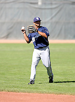 David Fonseca / Helena Brewers in action against the Ogden Raptors in a Pioneer League game in Ogden, UT - 08/10/2008..Photo by:  Bill Mitchell/Four Seam Images
