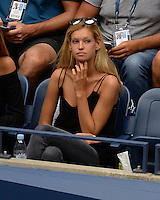 FLUSHING NY- SEPTEMBER 06: Clemence Bertrand is seen watching Gael Monfils Vs Lucas Pouille on Arthur Ashe Stadium at the USTA Billie Jean King National Tennis Center on September 6, 2016 in Flushing Queens. Credit: mpi04/MediaPunch