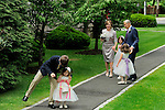 After their ceremony, <br />