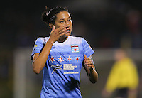 Boyds, MD - Friday Sept. 30, 2016: Christen Press during a National Women's Soccer League (NWSL) semi-finals match between the Washington Spirit and the Chicago Red Stars at Maureen Hendricks Field, Maryland SoccerPlex. The Washington Spirit won 2-1 in overtime.
