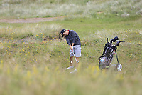Aaron Edwards-Hill (Chelmsford) during the final of the  North of Ireland Amateur Championship, Portstewart Golf Club, Portstewart, Antrim,  Ireland. 12/07/2019<br /> Picture: Golffile | Fran Caffrey<br /> <br /> <br /> All photo usage must carry mandatory copyright credit (© Golffile | Fran Caffrey)
