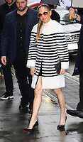 www.acepixs.com<br /> <br /> March 1 2017, New York City<br /> <br /> Actress Jennifer Lopez arrived to pre tape an episode of 'The View' on March 1 2017 in New York City<br /> <br /> By Line: Zelig Shaul/ACE Pictures<br /> <br /> <br /> ACE Pictures Inc<br /> Tel: 6467670430<br /> Email: info@acepixs.com<br /> www.acepixs.com