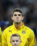 Dortmund's Christian Pulisic during the champions league match at Wembley Stadium, London. Picture date 13th September 2017. Picture credit should read: David Klein/Sportimage