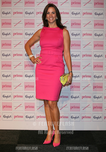 Andrea McLean arriving for the Prima High Street Fashion Awards 2010, Battersea Evolution, London. 09/09/2010  Picture by: Alexandra Glen / Featureflash