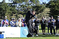 Phil Mickelson (USA) tees off the 6th tee during Sunday's Final Round of the 2018 AT&amp;T Pebble Beach Pro-Am, held on Pebble Beach Golf Course, Monterey,  California, USA. 11th February 2018.<br /> Picture: Eoin Clarke | Golffile<br /> <br /> <br /> All photos usage must carry mandatory copyright credit (&copy; Golffile | Eoin Clarke)