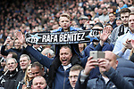 Newcastle United fans celebrate winning EFL Championship the during the EFL Championship match at St James' Park Stadium, Newcastle upon Tyne. Picture date: May 7th, 2017. Pic credit should read: Jamie Tyerman/Sportimage