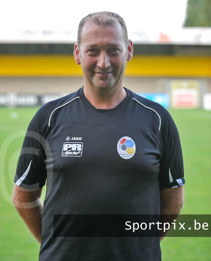 Waasland Beveren Sinaai Girls : Franky Notenbaert.foto Vrouwenteam.be / David Catry