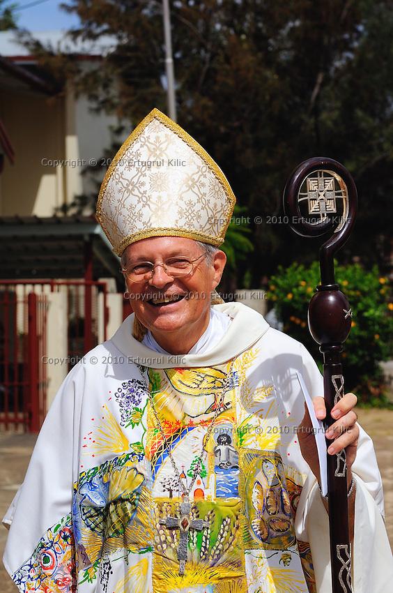Suriname Paramaribo Bishop Monsignor Wilhelmus de Bekker