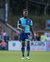 Anthony Stewart of Wycombe Wanderers during the Sky Bet League 2 match between Wycombe Wanderers and Accrington Stanley at Adams Park, High Wycombe, England on 16 August 2016. Photo by Andy Rowland.
