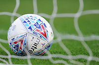 A general view of the Mitre EFL match ball<br /> <br /> Photographer Kevin Barnes/CameraSport<br /> <br /> The EFL Sky Bet League One - Oxford United v Fleetwood Town - Tuesday 10th April 2018 - Kassam Stadium - Oxford<br /> <br /> World Copyright &copy; 2018 CameraSport. All rights reserved. 43 Linden Ave. Countesthorpe. Leicester. England. LE8 5PG - Tel: +44 (0) 116 277 4147 - admin@camerasport.com - www.camerasport.com