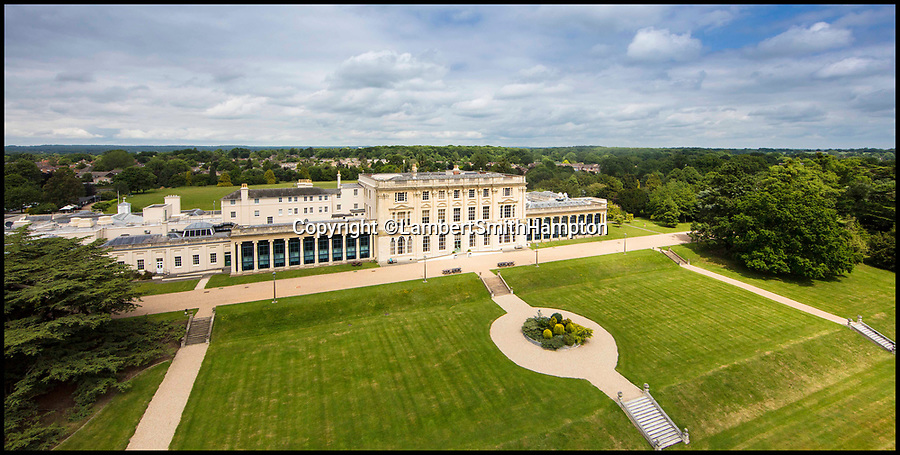 BNPS.co.uk (01202 558833)<br /> Pic: LambertSmithHampton/BNPS<br /> <br /> A historic manor park owned by the BBC that played a vital role in accessing foreign media during the Second World War is now on the market and expected to sell for in excess of &pound;20million.<br /> <br /> Caversham Park is believed to have been gifted to a relative of William the Conqueror in 1066, was recorded in the Domesday Book with a value of &pound;20 and has entertained royalty in its 950-year lifetime.<br /> <br /> But the existing 19th century manor house near Reading, Berkshire, has been home to the BBC's Monitoring headquarters since 1943 with as many as 1,000 people working there by the end of the war.<br /> <br /> Agents Lambert Smith Hampton say the sale represents an incredible opportunity to purchase a prime site with lots of options.<br /> <br /> A spokesman said it was hard to put a figure on the building, as it would depend on the planned use of the buyer, but market sources suggest it should sell for in excess of &pound;20million.