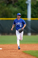 Indiana State Sycamores outfielder Brandt Nowaskie (16) during a game against the Chicago State Cougars on February 23, 2020 at North Charlotte Regional Park in Port Charlotte, Florida.  Chicago State defeated Indiana State 3-0.  (Mike Janes/Four Seam Images)