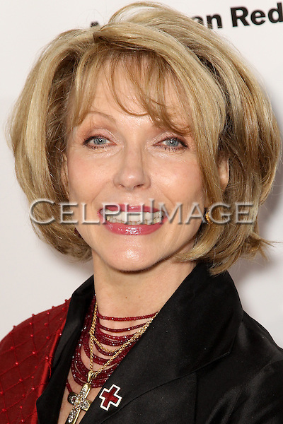 "SUSAN BLAKELY. Red carpet arrivals to the annual ""Red Tie Affair,"" benefitting the American Red Cross of Santa Monica, and honoring the humanitarian spirit of those who have shown courage, unselfish character and whose work has saved lives. At the Fairmont Miramar. Santa Monica, CA, USA. April 17, 2010."