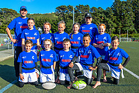 The France (Manawatu) team pose for a team photo on day one of the 2019 Air NZ Rippa Rugby Championship at Wakefield Park in Wellington, New Zealand on Monday, 26 August 2019. Photo: Dave Lintott / lintottphoto.co.nz