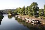 Boats River Avon Bath England