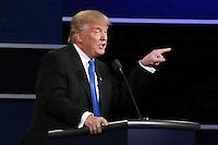 New York (Stati Uniti) 26/09/2016 - elezioni presidenziali americane / confronto televisivo candidati / foto Imago/Insidefoto <br /> nella foto: Donald Trump <br /> ITALY ONLY
