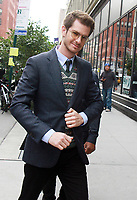 NEW YORK, NY - OCTOBER 11: Anderw Garfield seen at AOL's Build Series in New York City on October 11, 2017. <br /> CAP/MPI/RW<br /> &copy;RW/MPI/Capital Pictures