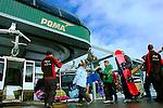 gondola loading skiers and riders at Canyons, Park City, Utah file #8563
