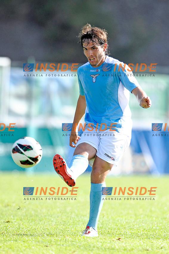Alvaro Gonzalez Lazio.Auronzo di Cadore 21/7/2012.Football Calcio 2012 / 2013 .Amichevole Friendly Match.SS Lazio Vs AC Montebelluna.Foto Insidefoto.