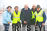 Members of the race committee pictured at the races in Asdee on Sunday.Siobhan Keane (secretary), Fergus O'Connor (PRO), John Sullivan, (President) and Ray Keane (Chairman)..   Copyright Kerry's Eye 2008