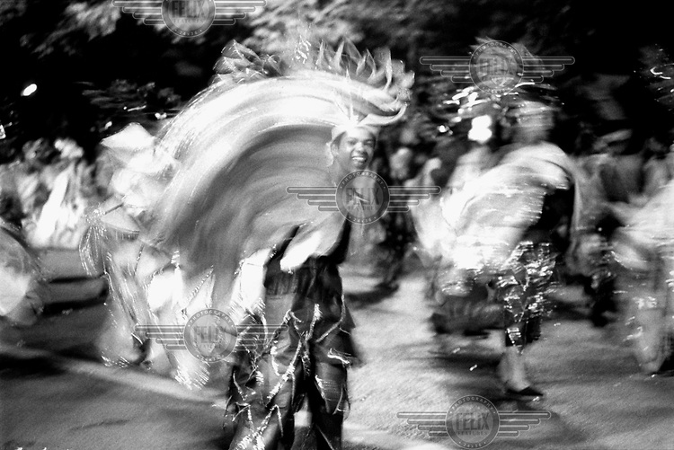 © Maria Luiza Carvalho / Panos Pictures..Belo Horizonte, Brazil..Carnival performers.