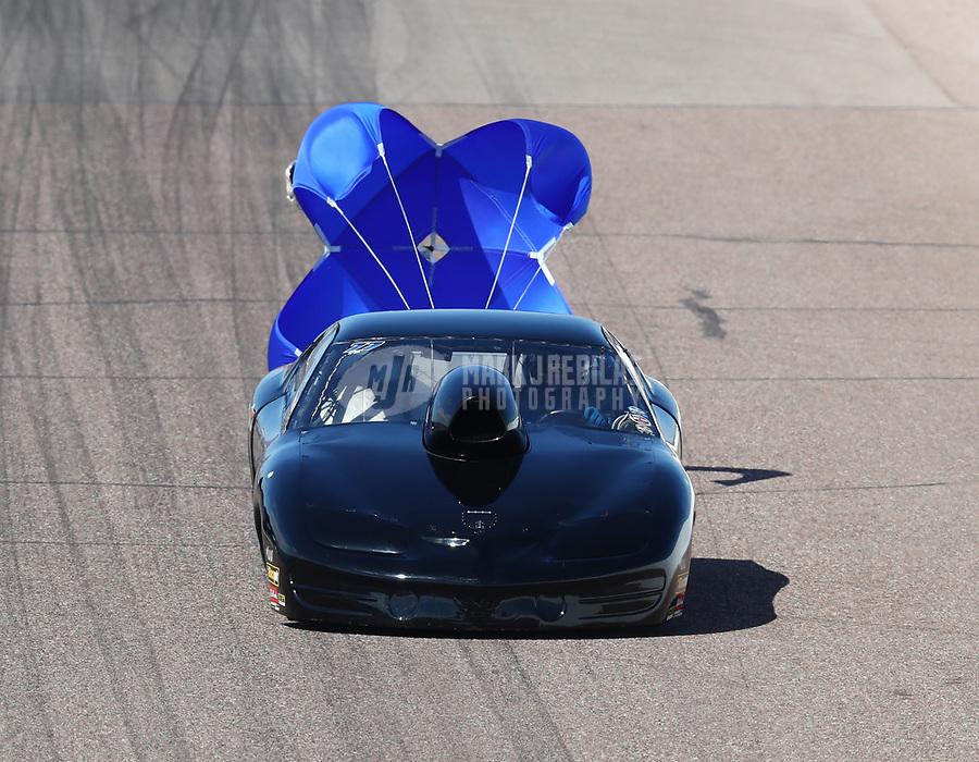 Feb 23, 2019; Chandler, AZ, USA; NHRA top sportsman driver Ted Kellner during qualifying for the Arizona Nationals at Wild Horse Pass Motorsports Park. Mandatory Credit: Mark J. Rebilas-USA TODAY Sports
