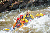 Colorado River Runs crashing Interstate, Dead Cow & Rodeo Rapids while running the Lower Eagle River from Wolcott to Eagle on the morning of June 6, 2015.