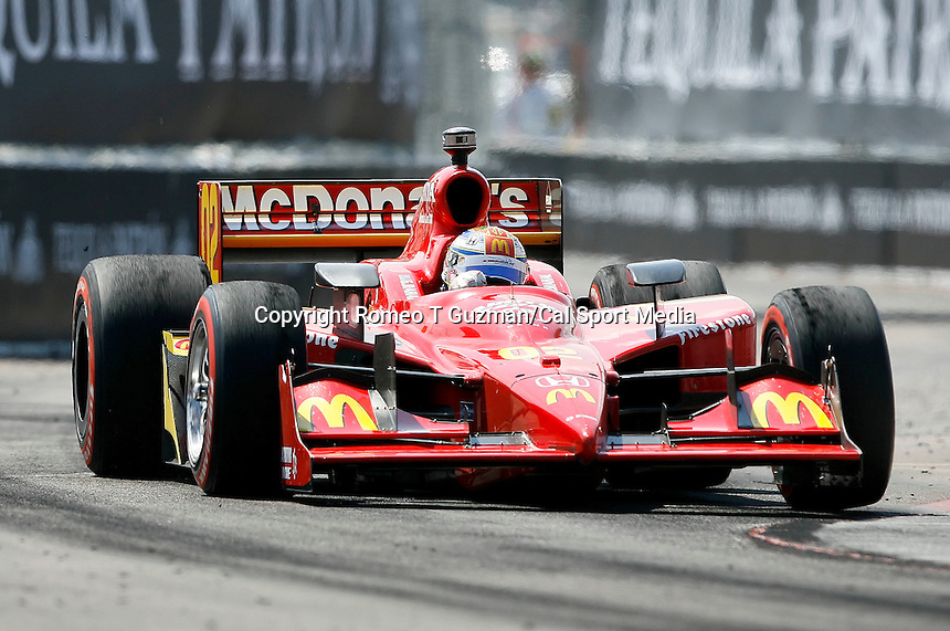 April 5, 2009: Graham Rahal in the McDonald's car #02 enters turn 12 during the IRL IndyCar Series Honda Grand Prix of St.Petersburg on the streets of St. Petersburg, Florida