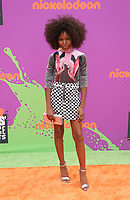 LOS ANGELES, CA July 13- Riele Downs, At Nickelodeon Kids' Choice Sports Awards 2017 at The Pauley Pavilion, California on July 13, 2017. Credit: Faye Sadou/MediaPunch