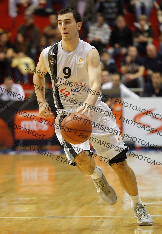 Kosarka ABA League season 2012-2013.Partizan Vs. Siroki.Leo Westermann.Beograd, 14.10.2012..foto: Srdjan Stevanovic/Starsportphoto ©