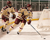 Casey Fitzgerald (BC - 5), Ryan Fitzgerald (BC - 19) - The Boston College Eagles defeated the Providence College Friars 3-1 (EN) on Sunday, January 8, 2017, at Fenway Park in Boston, Massachusetts.