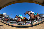 November 3, 2018: Horses race down the straight during the 1st running of the Qatar Cherokee Run Stakes on Breeders' Cup World Championship Saturday at Churchill Downs on November 3, 2018 in Louisville, Kentucky. Alex Evers/Eclipse Sportswire/CSM