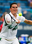 Milos Raonic (CAN) defeats Steve Johnson (USA) 7-6(2), 6-2