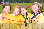 Playing with the hoops at the South West Girl Guides annual fun day in Killarney Community college on Saturday were l-r: Aoife Brick, Deborah Mangan, Emer McCarthy and Emily Horgan all Tralee   Copyright Kerry's Eye 2008