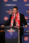 15 January 2009: Sam Cronin was taken with the second overall pick by Toronto FC. The 2009 Major League Soccer SuperDraft was held at the Convention Center in St. Louis, Missouri in conjuction with the National Soccer Coaches Association of America's annual convention.