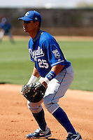 Kila Ka'aihue - Kansas City Royals - 2009 spring training.Photo by:  Bill Mitchell/Four Seam Images