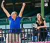 John & Maddie Witte rooting for Showmeister at Delaware Park on 6/20/16