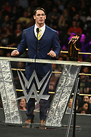 NEW YORK, NY - APRIL 6: John Cena at the 2019 WWE Hall Of Fame Ceremony at the Barclay's Center in Brooklyn, New York City on April 6, 2019.      <br /> CAP/MPI/GN<br /> ©GN/MPI/Capital Pictures