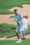 Yao Ming during the World Celebrity Pro-Am 2016 Mission Hills China Golf Tournament on 22 October 2016, in Haikou, China. Photo by Weixiang Lim / Power Sport Images