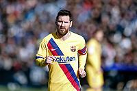 23rd November 2019; Estadio Municipal de Butarque, Madrid, Spain; La Liga Football, Club Deportivo Leganes versus Futbol Club Barcelona; Lionel Messi (FC Barcelona) moves into position for a corner - Editorial Use