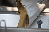 27.5.2020 Profilux being added to an induction hopper <br /> ©Tim Scrivener Photographer 07850 303986<br />      ....Covering Agriculture In The UK.