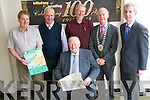 Killarney Chamber of Commerce and Tourism held their monthly meeting at Killarney Printing this week to mark the 100th anniversary of the printing works. <br /> Pictured are Paddy McMonagle  <br /> Back L-R Peter Gleeson, Michael Donoghue, Tom Barry and chamber president Johnny McGuire and Sean Buckley.
