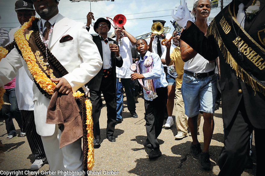 Uncle Lionel Batiste jazz funeral, 2012