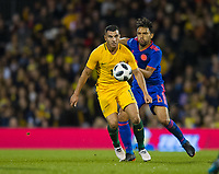 Australia Andrew Nabbout during the International Friendly match between Colombia and Australia at Craven Cottage, London, England on 27 March 2018. Photo by Andrew Aleksiejczuk / PRiME Media Images.