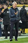 15.03.2019, Borussia Park , Moenchengladbach, GER, 1. FBL,  Borussia Moenchengladbach vs. SC Freiburg,<br />  <br /> DFL regulations prohibit any use of photographs as image sequences and/or quasi-video<br /> <br /> im Bild / picture shows: <br /> Christian Streich Trainer/Headcoach (SC Freiburg), regt sich heftig auf <br /> <br /> Foto © nordphoto / Meuter