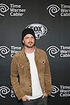 Aaron Paul FOX Sports 1 celebrates the official Thursday Night Super Bash at Time Warner Cable Studios. Hosts Michael Strahan and Erin Andrews Superbowl week, NY