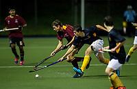 Kings College 1st XI hockey v Auckland Grammar School, Auckland Grammar, Auckland, Wednesday 20 June 2018. Photo: Simon Watts/www.bwmedia.co.nz