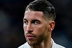 Sergio Ramos of Real Madrid is seen prior to the La Liga 2018-19 match between Real Madrid and Rayo Vallencano at Estadio Santiago Bernabeu on December 15 2018 in Madrid, Spain. Photo by Diego Souto / Power Sport Images