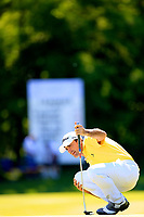 Gary Stal (FRA) during the second round of the Lyoness Open powered by Organic+ played at Diamond Country Club, Atzenbrugg, Austria. 8-11 June 2017.<br /> 09/06/2017.<br /> Picture: Golffile | Phil Inglis<br /> <br /> <br /> All photo usage must carry mandatory copyright credit (&copy; Golffile | Phil Inglis)