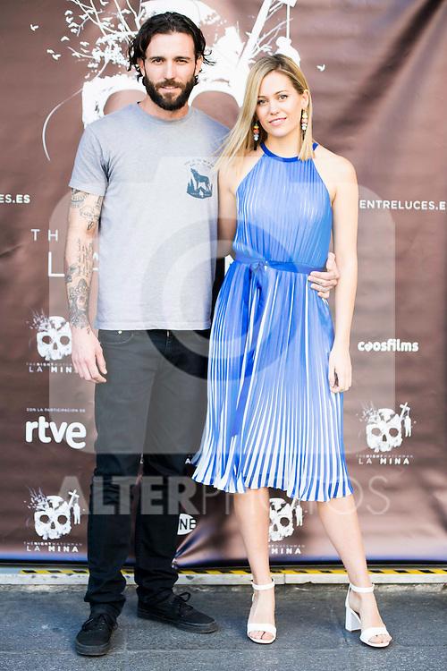 "Matt Horan and Kimberley Tell during the presentation of the film ""La Mina"" at Cines Renoir Plaza España in Madrid. July 15. 2016. (ALTERPHOTOS/Borja B.Hojas)"